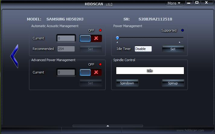HDDScan – FREE HDD Test Diagnostics Software with RAID and